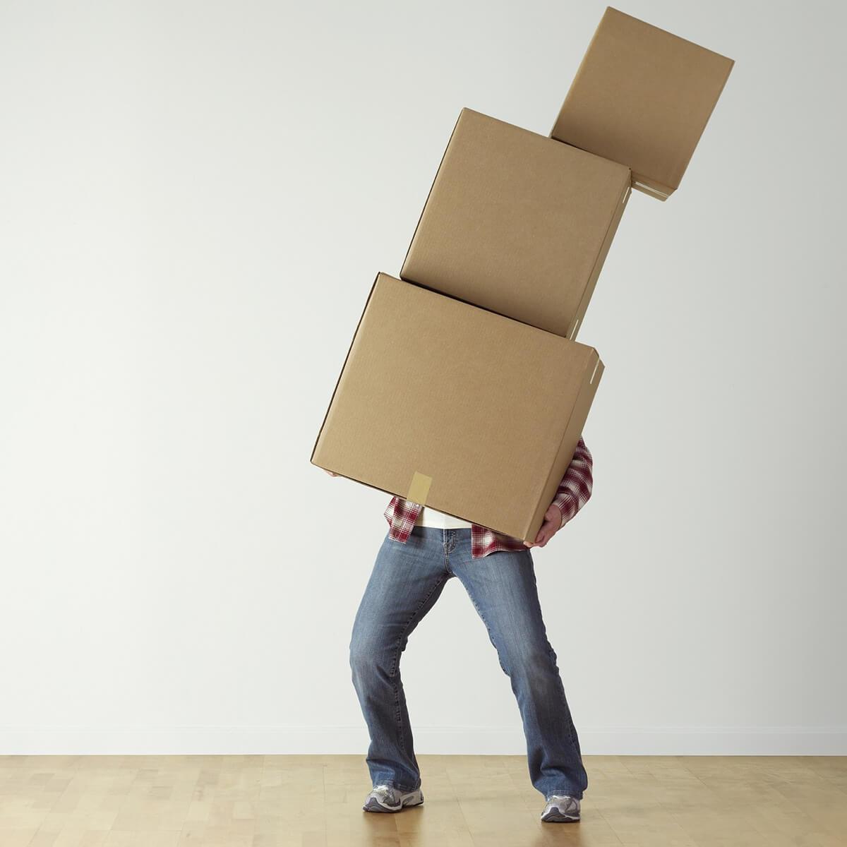 Stockage déménagement