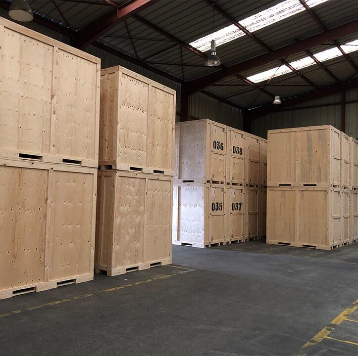Box de stockage paticulier