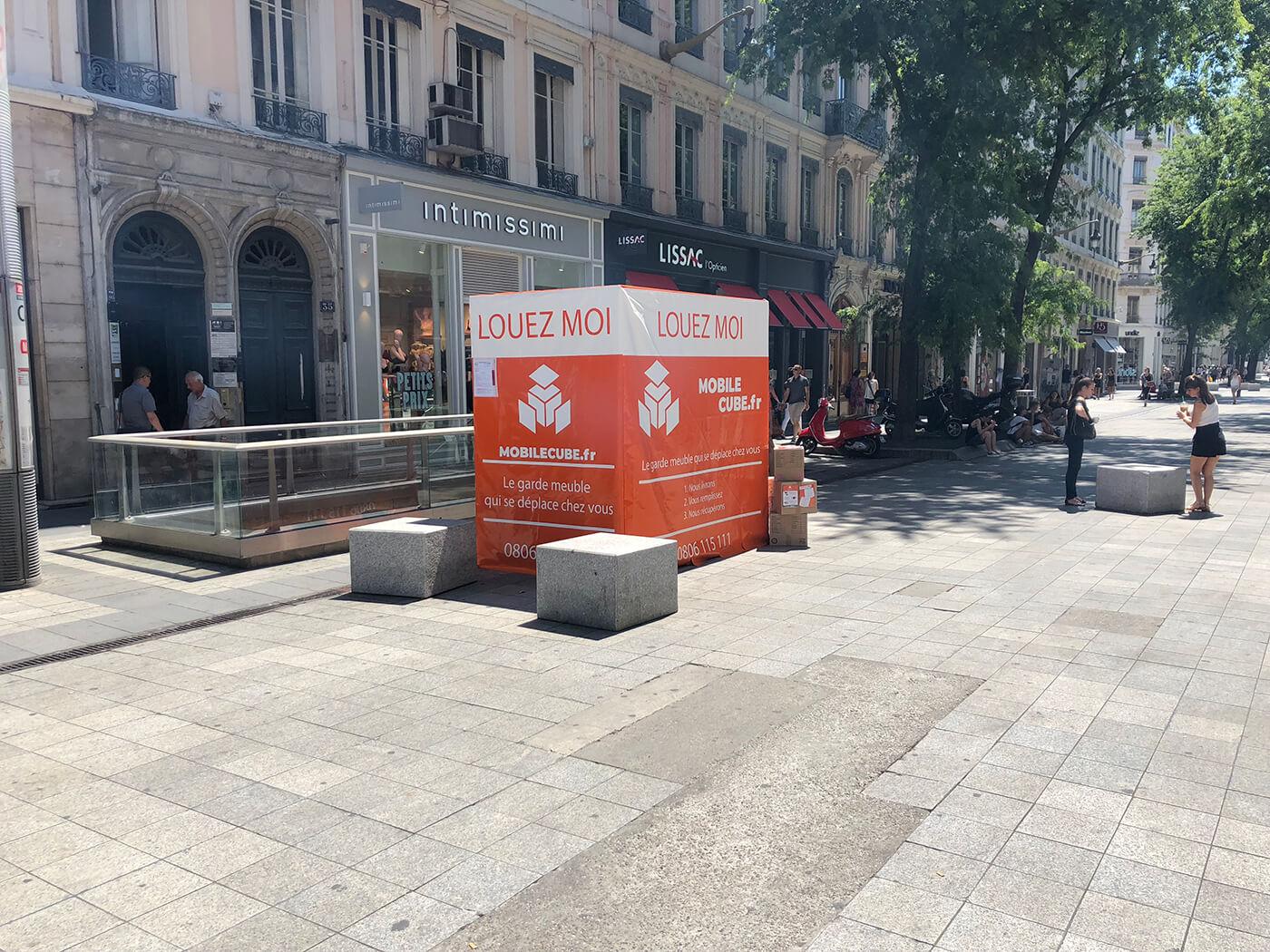 Box de stockage en ville