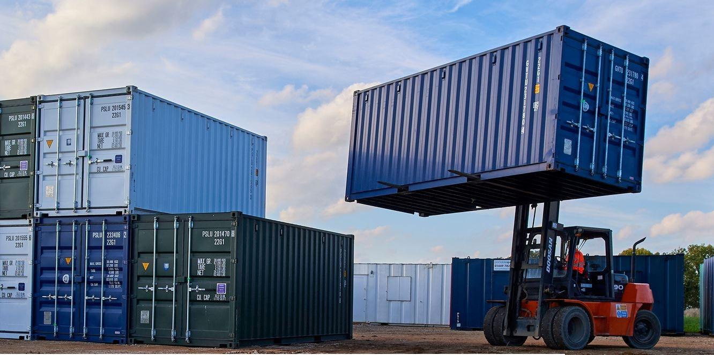 Stockage container métallique