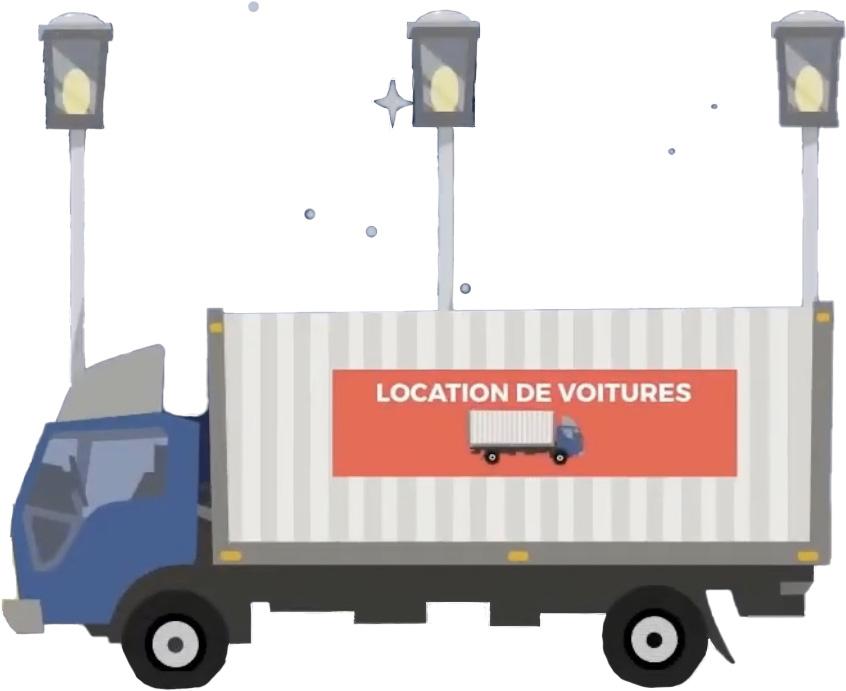 Ramener le camion de location