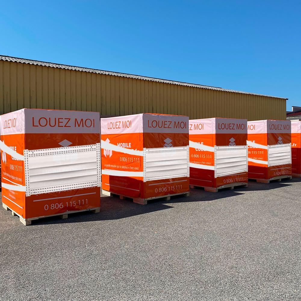 Box de stockage coronavirus