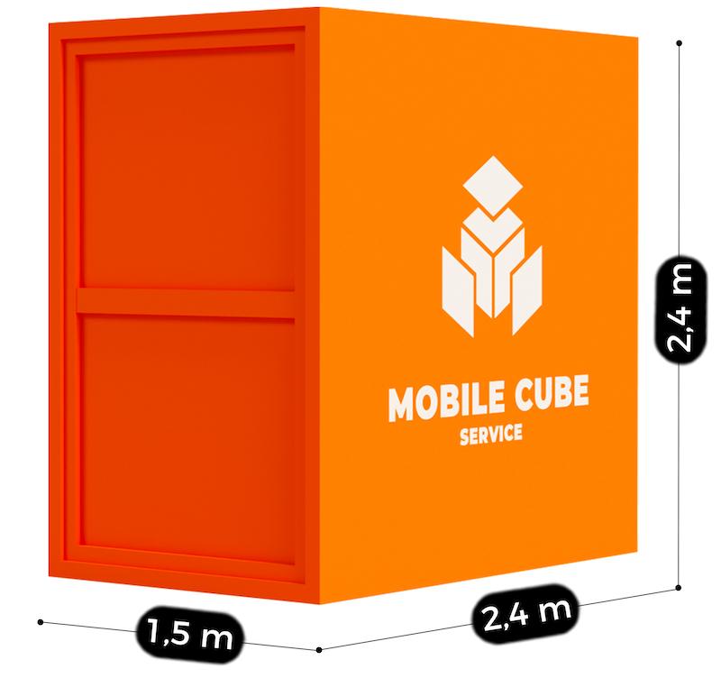 Dimensions box de stockage