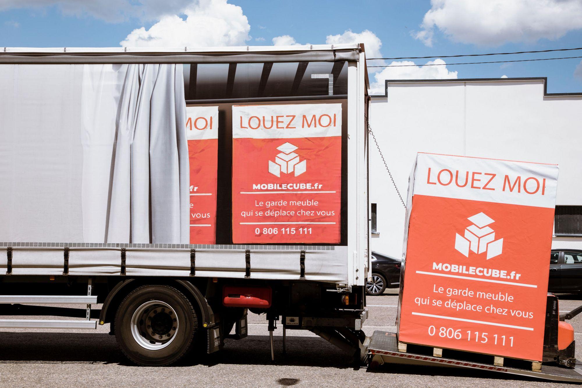 Garde meuble agence Lyon Porte Isère