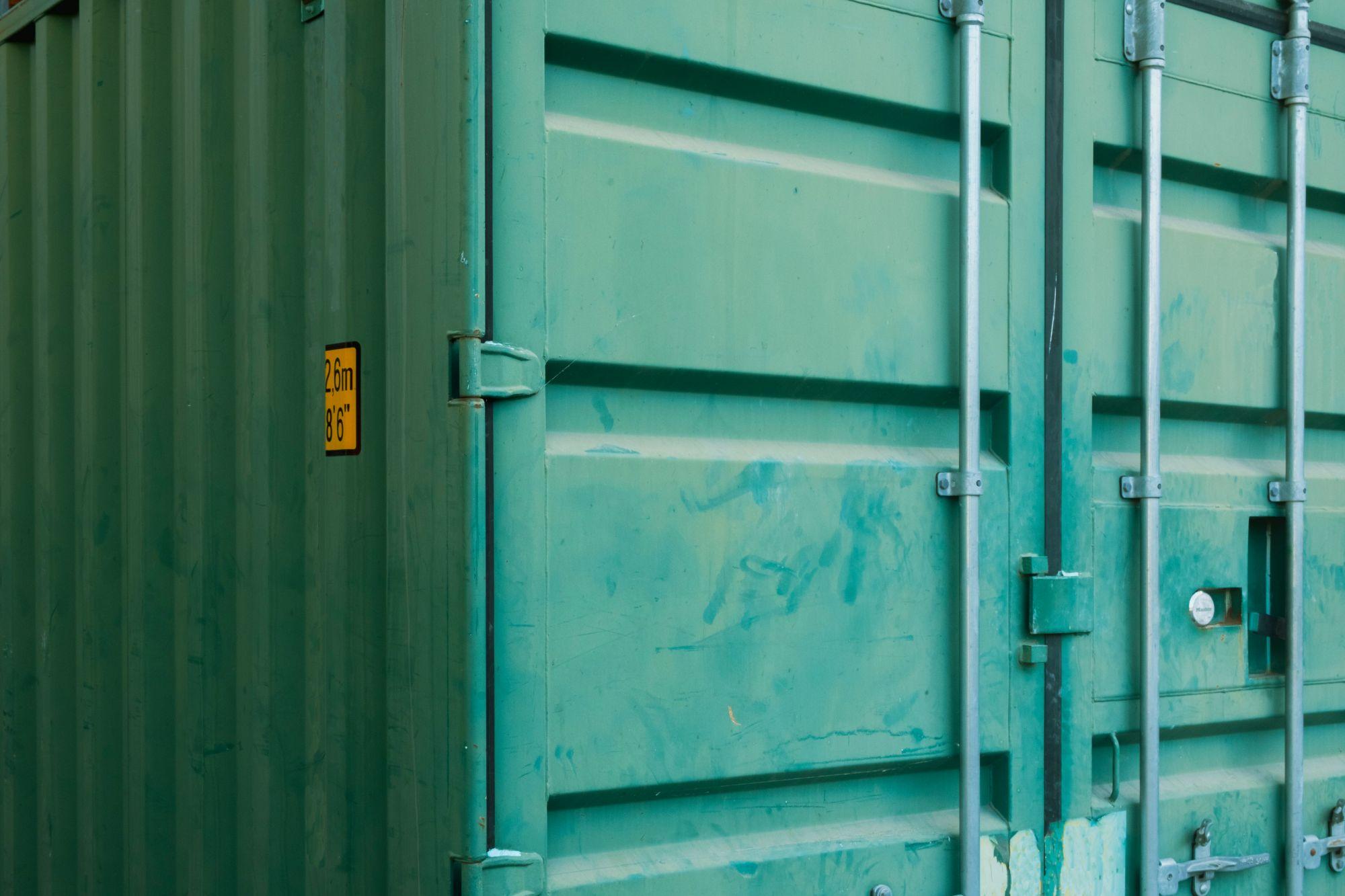 Stockage container métallique mutation