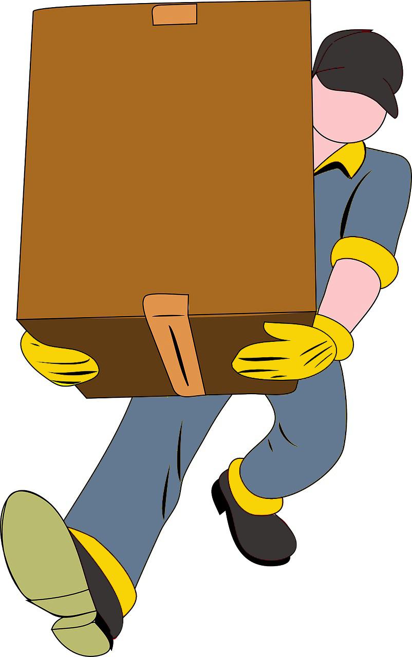 Garde meuble chez un déménageur