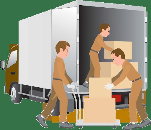 Cartons déménagement via les société de déménagement
