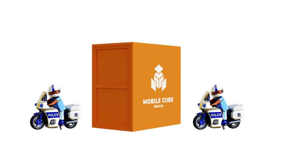Escorte pour Mobile cube®