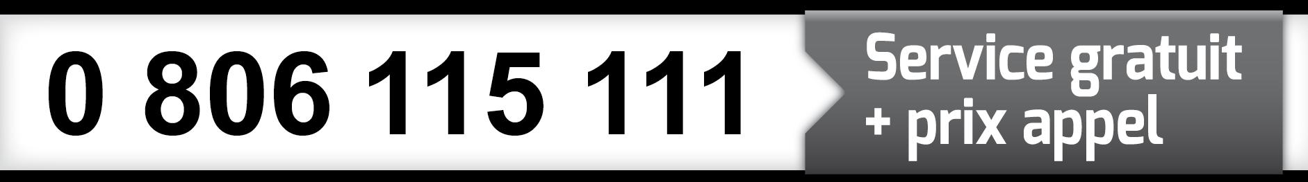 0 806 115 111