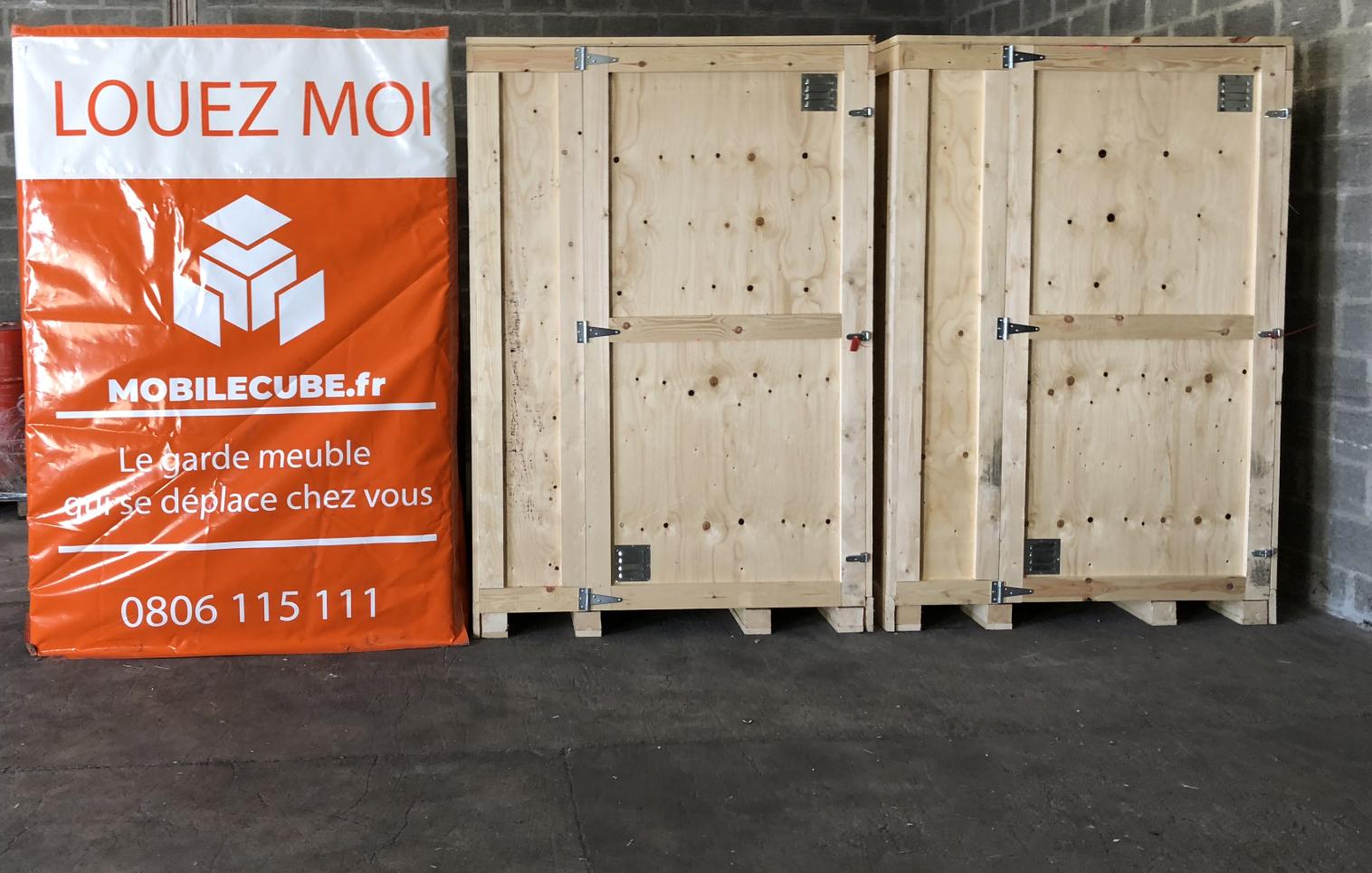 Espace box de stockage et garde meuble au rez de chaussée