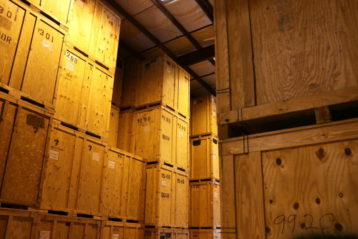 Stockage garde meuble déménagement